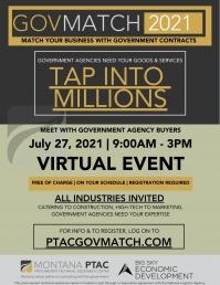 GovMatch 2021 Virtual Matchmaking Event