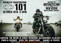 Intro to Motorcycling H-D 101