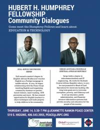 Humphrey Fellowship Community Dialogues Series
