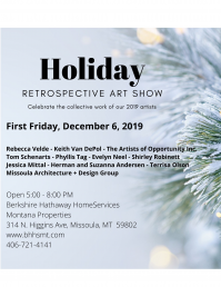 First Friday - Holiday Retrospective