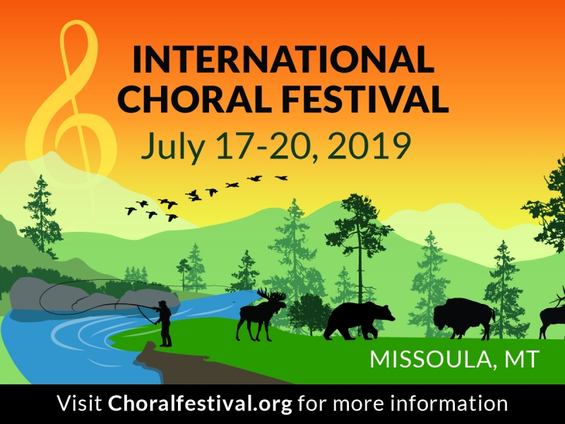 International Choral Festival 07/17/2019 Missoula, Montana