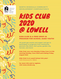 Kids Club: Free Youth Drop-in Program