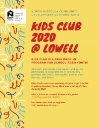 Kids Club: Free Youth Drop-in Program