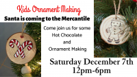 Ornament Making at CREATE art bar