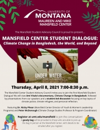 Mansfield Center Student Dialogue: Climate Change