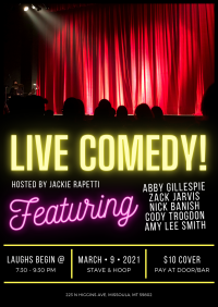 Live Comedy at Stave and Hoop!