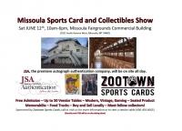 Missoula Sports Card & Memorabilia Show