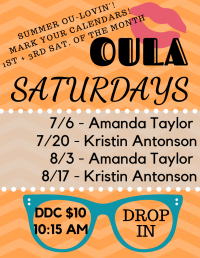 Oula Saturdays at the DDC
