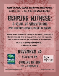 Bearing Witness: Stories from MT Juvenile Halls