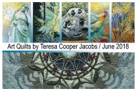 First Friday: Art Quilts by Teresa Cooper Jacobs