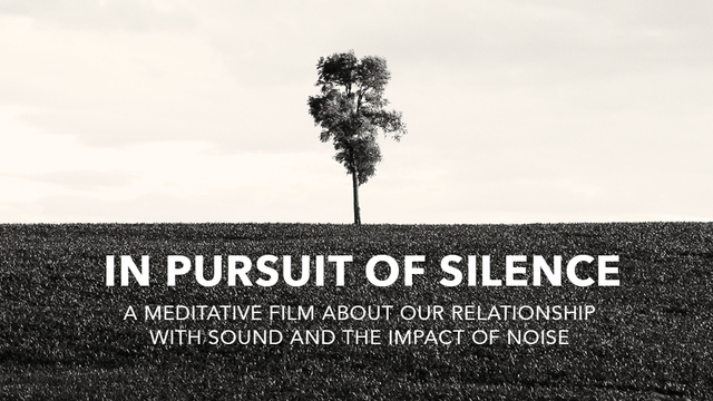 Big Sky Film Series Presents: In Pursuit of Silence