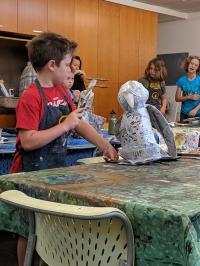 Summer Classes: Raptors and Art