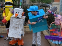 Summer Classes: Wearable Cardboard Creations