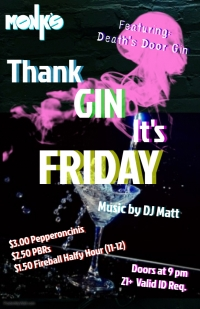 Thank Gin It's Friday