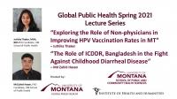 Juthika Thaker & Md Zahid Hasan present UM Phd research