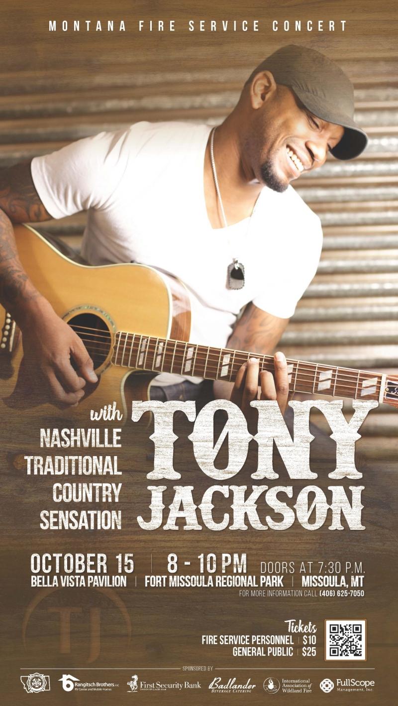 Tony Jackson Concert
