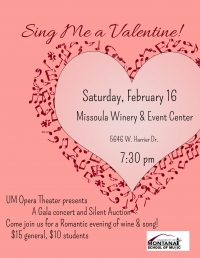 Sing Me A Valentine! presented by UM Opera Theater