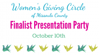 Women's Giving Circle - Finalist Presentation Party