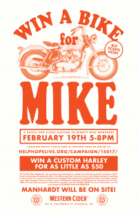 Win a Bike for Mike