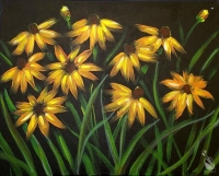 Paint and Sip: Black Eyed Susans