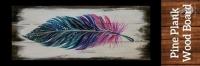 Painting: Boho Feather