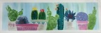 Paint and Sip:  Cacti on a Shelf