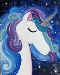 Painting: Cosmic Unicorn