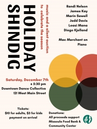 Holiday Shindig at the Downtown Dance Collective