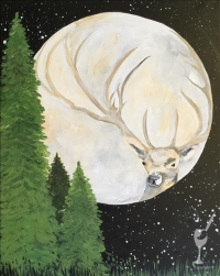 Paint and Sip: Deer Moon