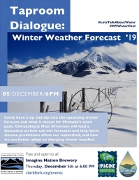 Taproom Dialogue: Winter Weather Forecast '19