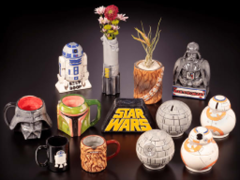 Star Wars Pottery Painting