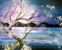 Paint and Sip:  Ethereal Evening