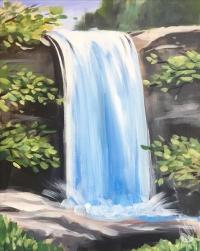 Paint and Sip: Lula Falls