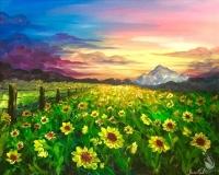 Painting: Summer Sunflowers