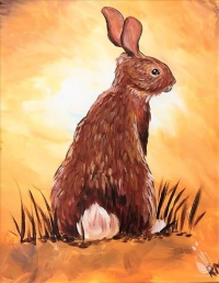 Paint and Sip: Kari's Bunny Request