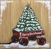 Red Wagon Christmas