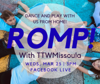 Virtual ROMP! with Turning the Wheel Missoula