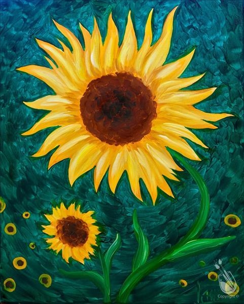 Paint and Sip-Sunflower Dance