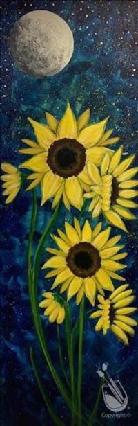 Painting:  Sunflower Glow