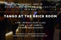 Tango at the Brick Room