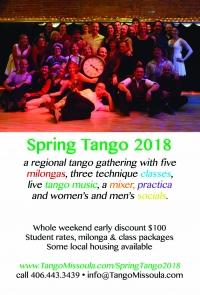 Tango Missoula Spring 2018