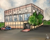 Trivia and Paint - The Office Building