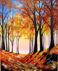 Painting: Walk in the Woods