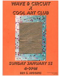 Wave & Circuit X Cool Art Club (ART SHOW)