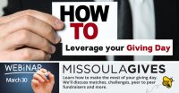 How to Leverage your Giving Day