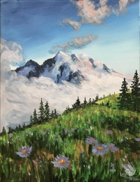 Painting:  Wildflower Hike