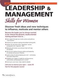Leadership & Management Skills for Women