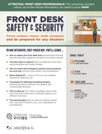 Front Desk Safety & Security