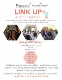 Link Up Accelerator for Women - Spring
