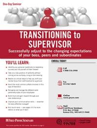 Transitioning to Supervisor